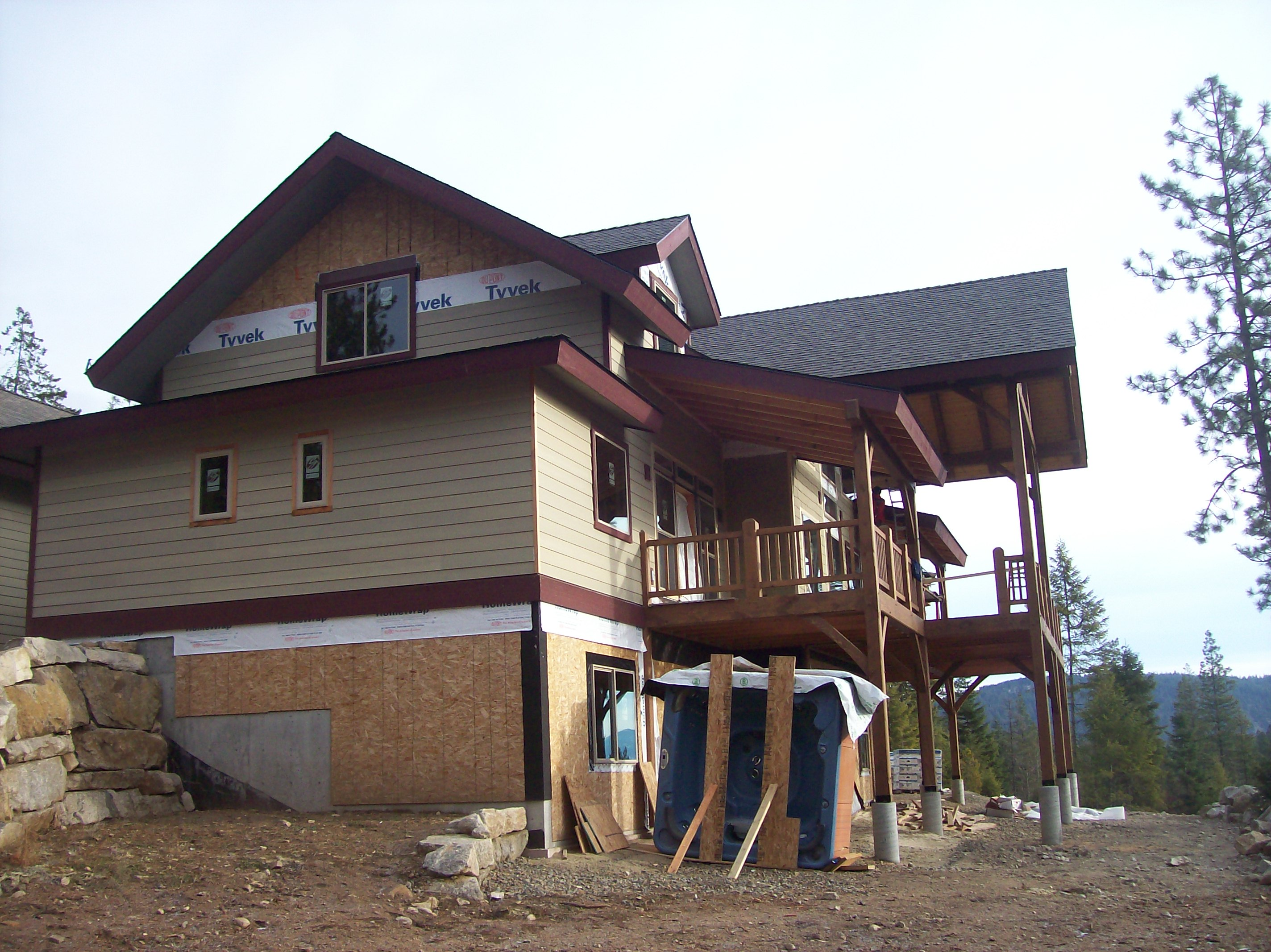 Eagle ridge estates home dan fogarty idaho custom builder for Daylight basement homes