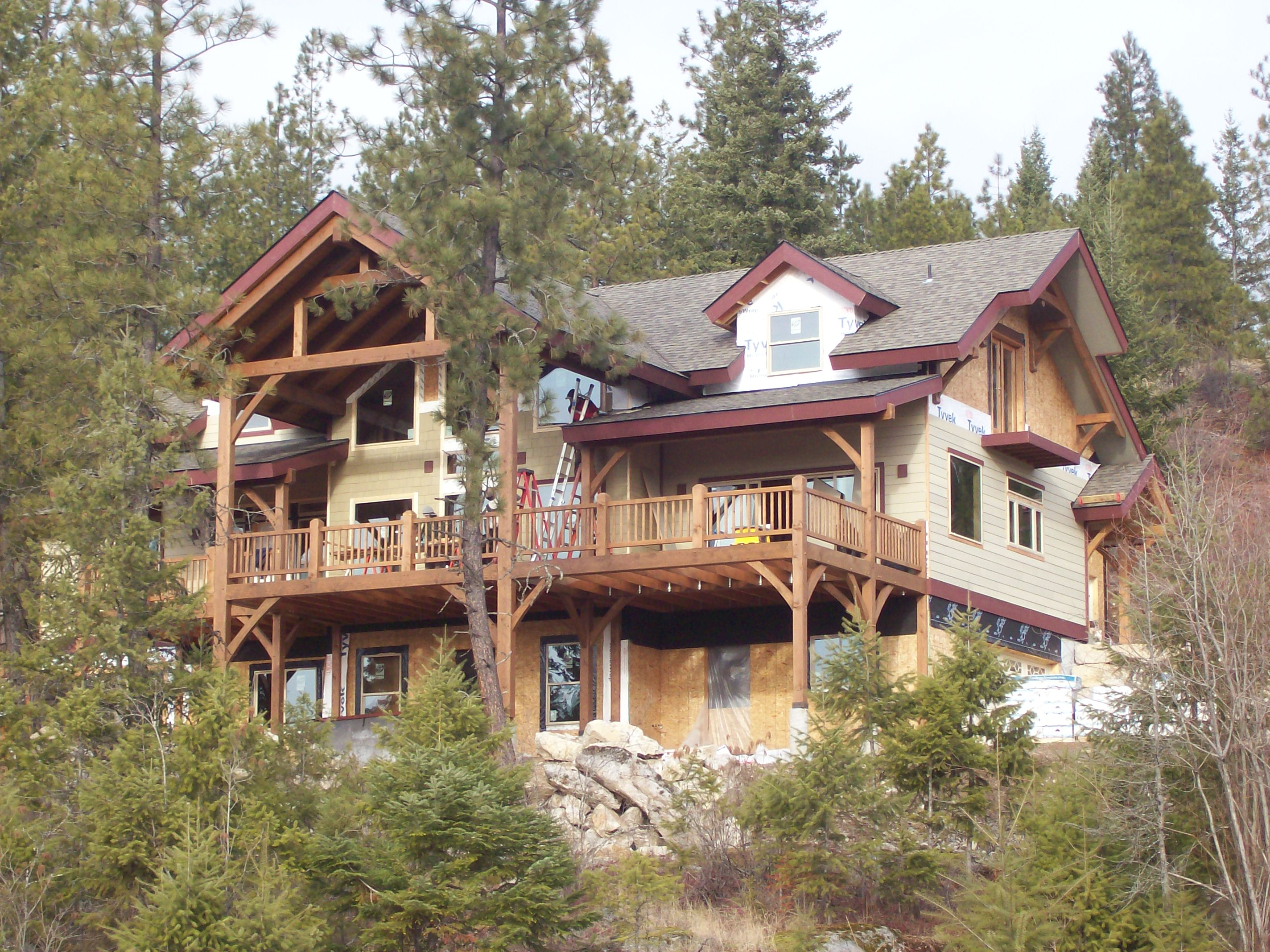 completed home projects dan fogarty custom homes sandpoint