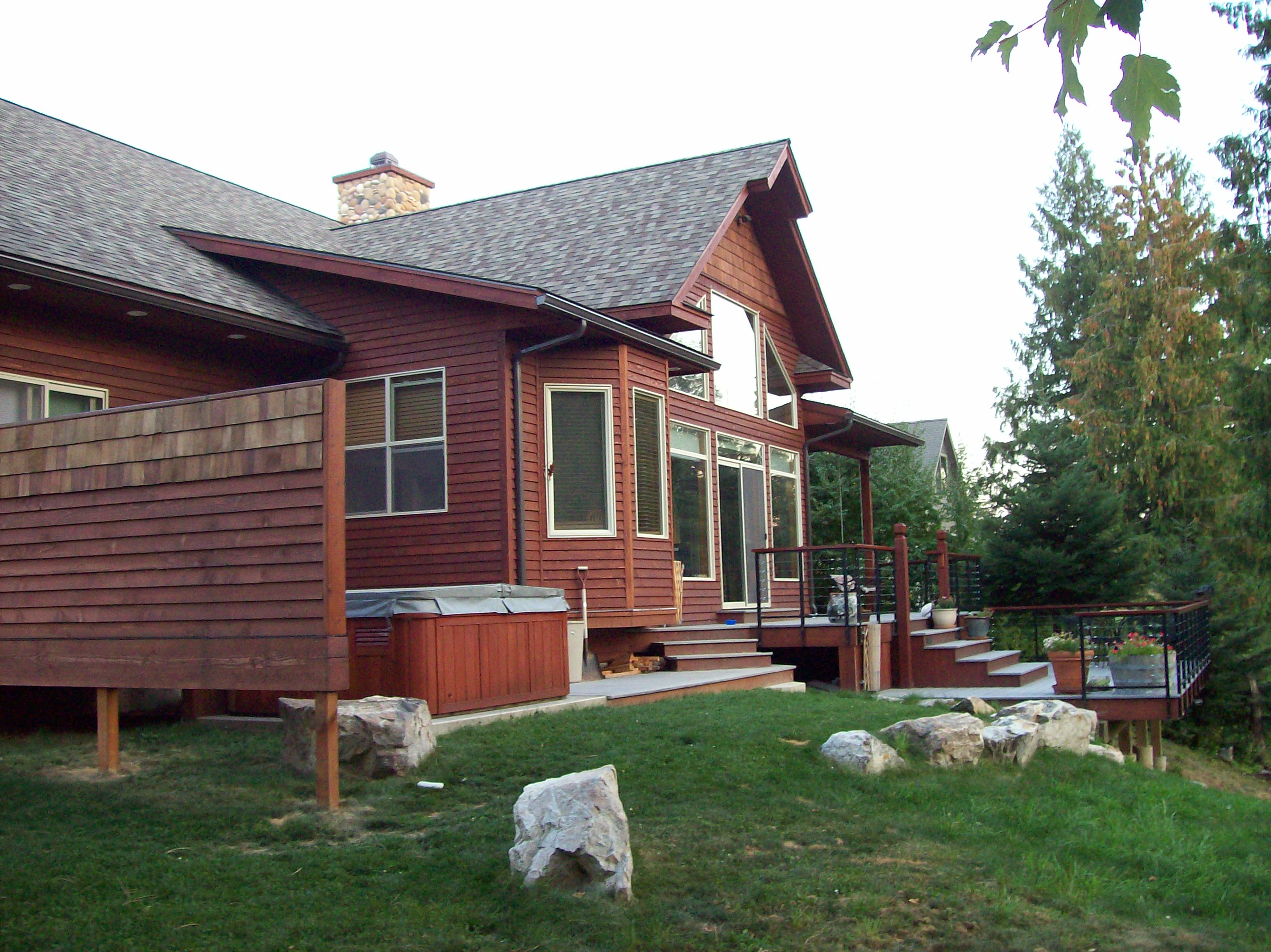 Canoe Cove Dan Fogarty Custom Home Sandpoint Idaho
