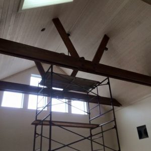 Waterfront Farmhouse - Beams