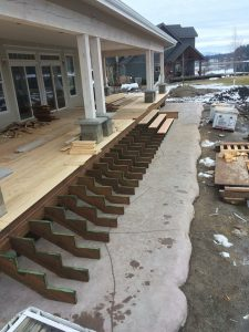 Waterfront Farmhouse - Porch Install